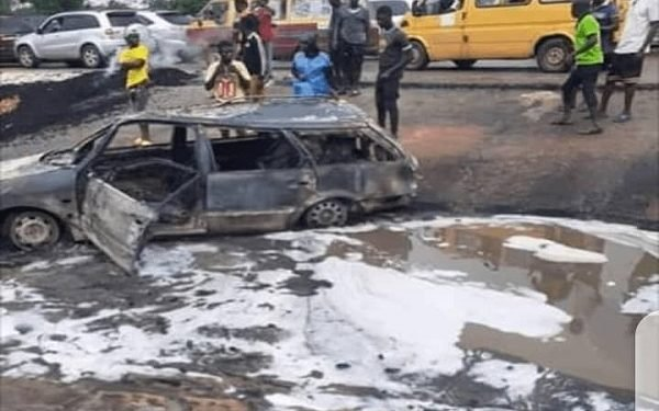 Tanker explosion in Delta State leaves at least 17 dead (Photos)
