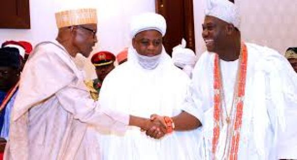 Yorùbá Nation rejects holding of general election before restructuring of Nigeria - President Buhari and Ooni of Ife