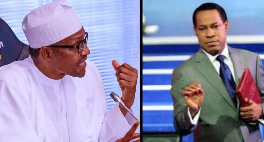 President Buhari and Pastor Chris Oyakhilome