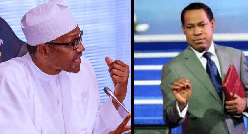 President Buhari and Pastor Chris Oyakhilome