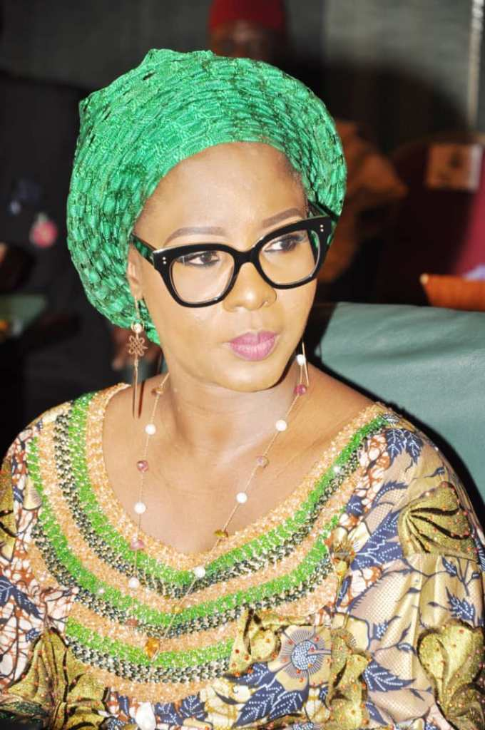 THE FIRST LADY  OF KWARA STATE, HER EXCELLENCY DR (MRS) OLUFOLAKE AJIKE ABDULRAZAQ