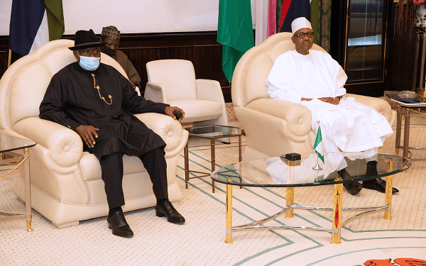 JUST IN: Buhari in secret talks with Jonathan