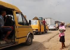 Lagos commuter bus