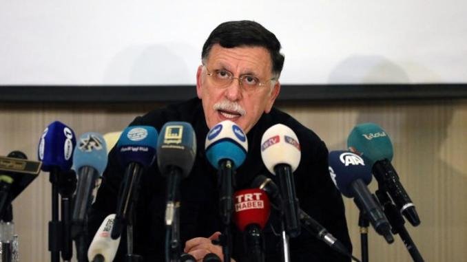 Libya's Tripoli-based government declares ceasefire