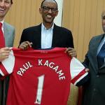 Paul Kegame a strong Arsenal Fan