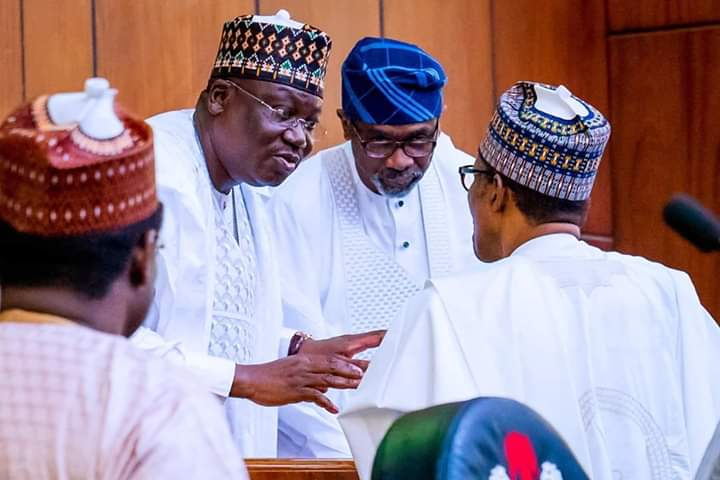 President Buhari and House of Assembly Leaders