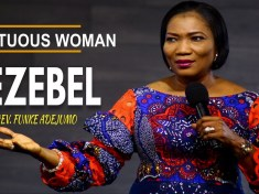 Virtuos woman Jezebel by Rev Funke