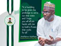 ABDULRAHMAN ABDULRAZAQ EFFORTS IN BUILDING VIRILE ,SUSTAINABLE STATE IS COMMENDABLE - BY COMRADE LUKMAN O. AHMED