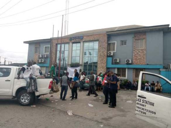 Labour Union Shuts Down Electricity Distribution Company-s Office