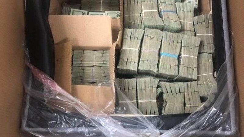 Customs uncover about $500,000 smuggled cash hidden in chair cushion