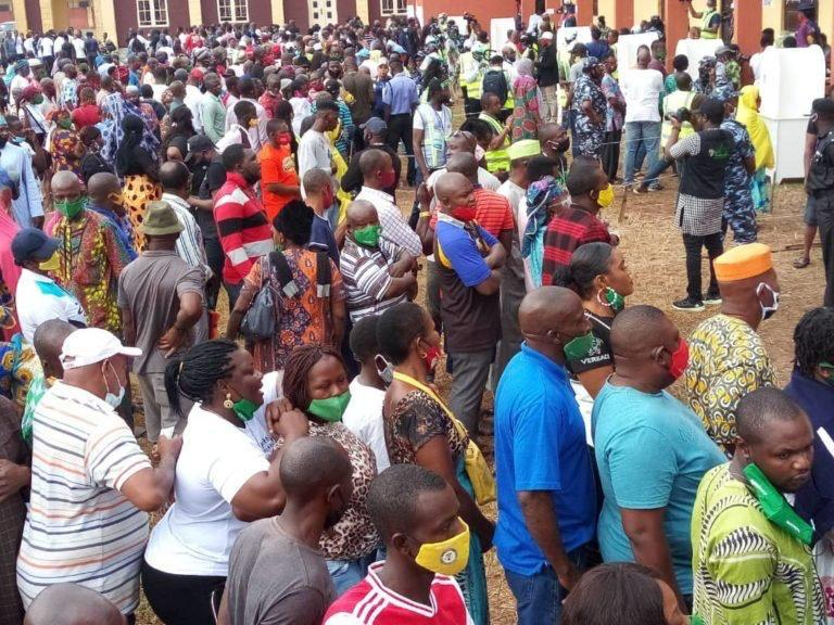 EdoDecides2020- Serious Violence In Edo As Thugs Shot Sporadically To Scare Voters, One Shot Dead