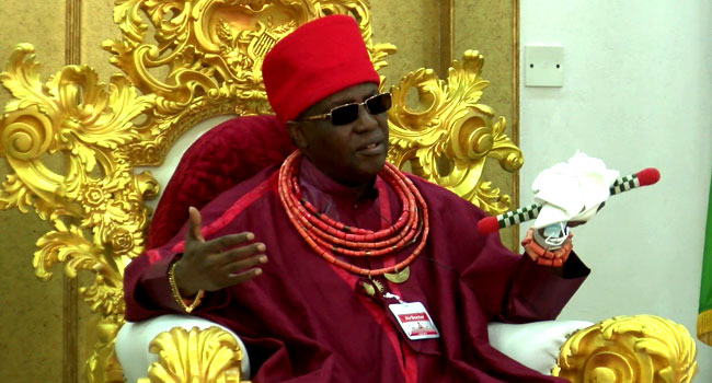 Oba of Benin Urges Peace in coming Edo Guber Election