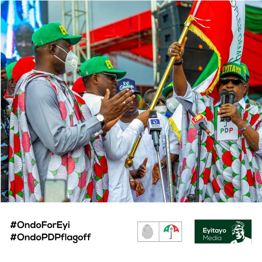 MASSIVE TURNOUT AS PDP FLAGS OFF CAMPAIGN IN ONDO STATE