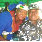 AIG Paul Okafor and wife
