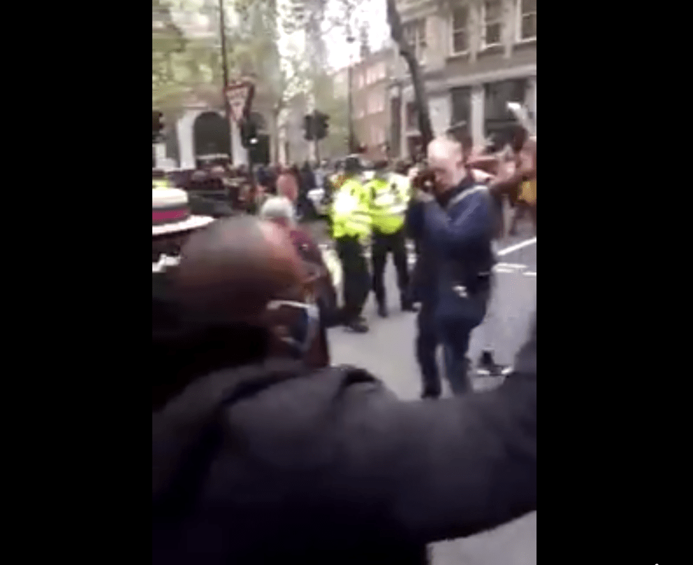 END NIGERIA NOW, BUHARI IS DEAD, TELL THE WORLD THE TRUTH; - NIGERIANS PROTEST IN LONDON (VIDEO)