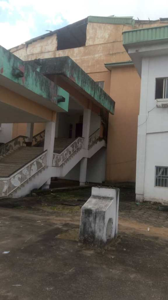 Horror- Imo State House of Assembly Complex at the Verge of Collapse, workers flee for their lives