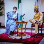 House of Reps Speaker Femi Gbajabiamila and Lagos State Governor Babajide Sanwo Olu