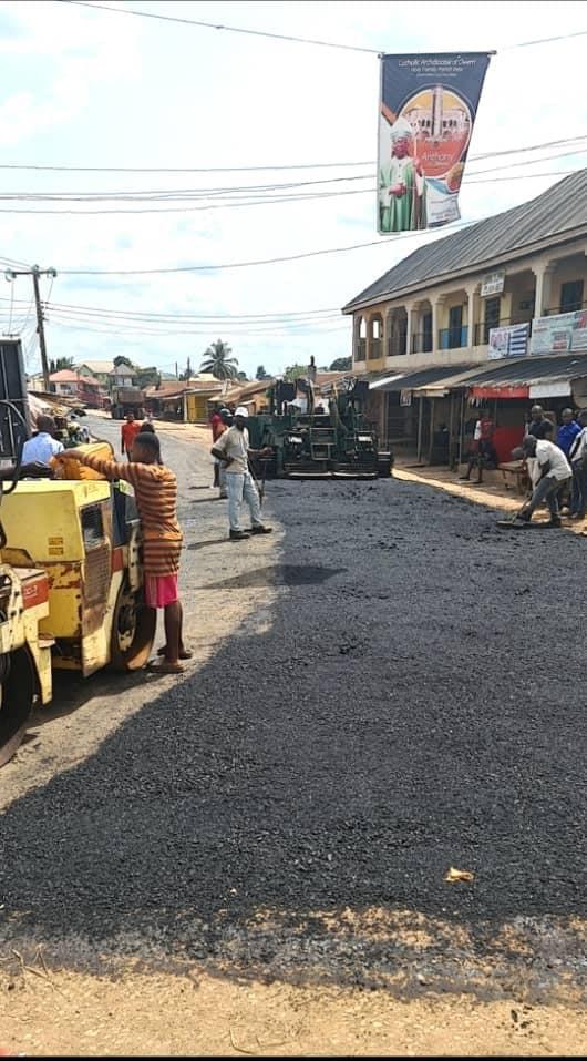Irate Iregu road constructions