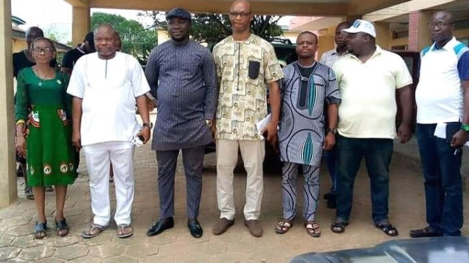NUJ Imo stete chapter - Steve Uzoechi (Middle)