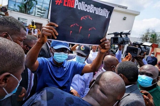 Sanwo Olu End Police Brutality