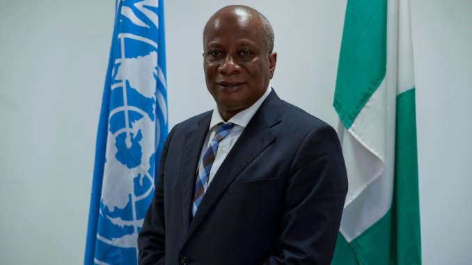 The United Nations Resident Coordinator and Humanitarian Coordinator in Nigeria, Edward Kallon