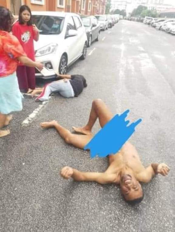Nigerian man in Malaysia kills step grandson in rage after failed attempt to rape step daughter (Video)