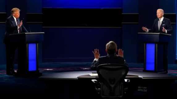 Trump and Biden Presidential Debate Debate