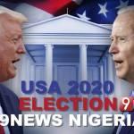 USA 2020 PRESIDENTIAL ELECTION - Donald Trump and Joe Biden Face Off
