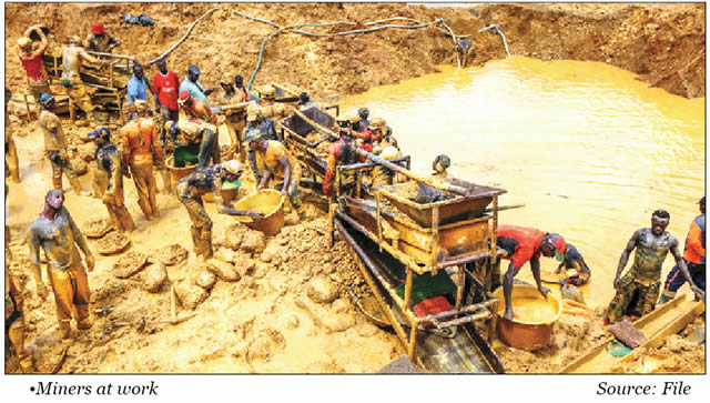 Zamfara state gold mines