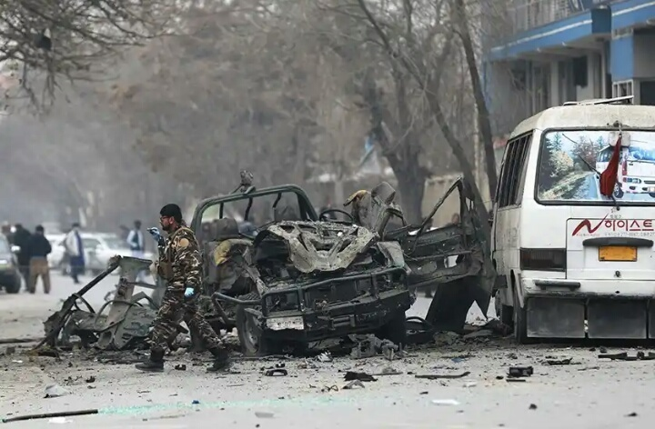 Christmas Bomb- Explosion hits Kabul Afghanistan, Casualties recorded