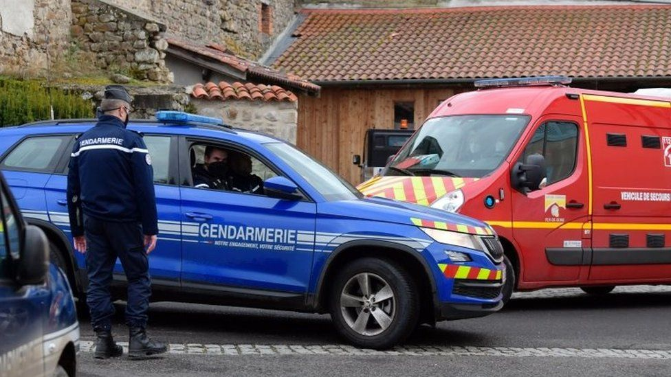 Gunman Kills three police officers in France and later found dead