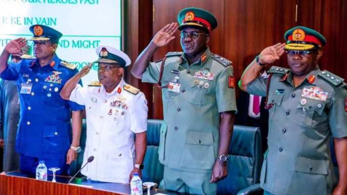 Security Service Chiefs