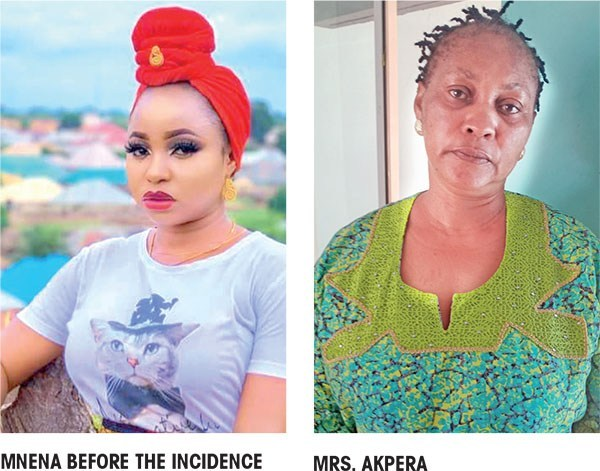 Side Chick Nnenna and married woman Mrs Akpera
