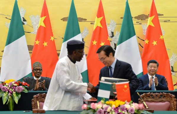 Chinese unilateral relationship with Nigeria