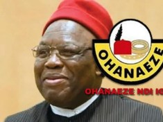 The new President General of Ohaneze Ndi Igbo, Prof George Obiozor