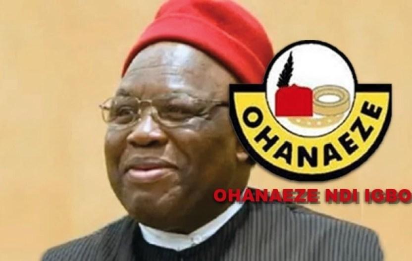 The new President General of Ohaneze Ndi Igbo, Prof George Obiozor