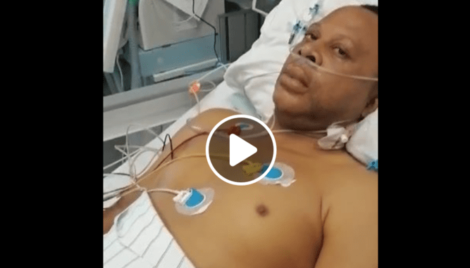 UNIDENTIFIED IGBO MAN IN INTENSIVE CARE FOR COVID-19 AFTER RETURN FROM NIGERIA, HE LIVES IN PITTSBURG USA (VIDEO)