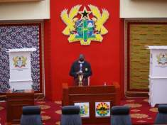 Ghana's parliament shuts down after virus outbreak