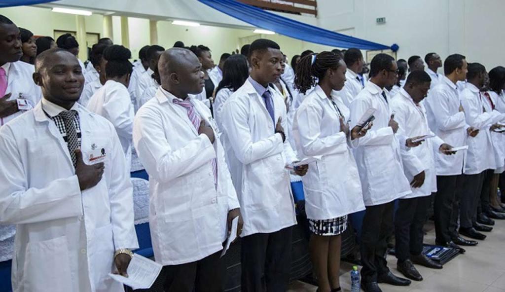Graduating Student Doctors - Kaduna