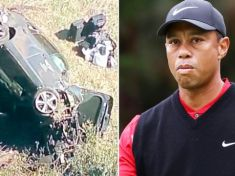 Tiger Woods Involved in Auto Crash