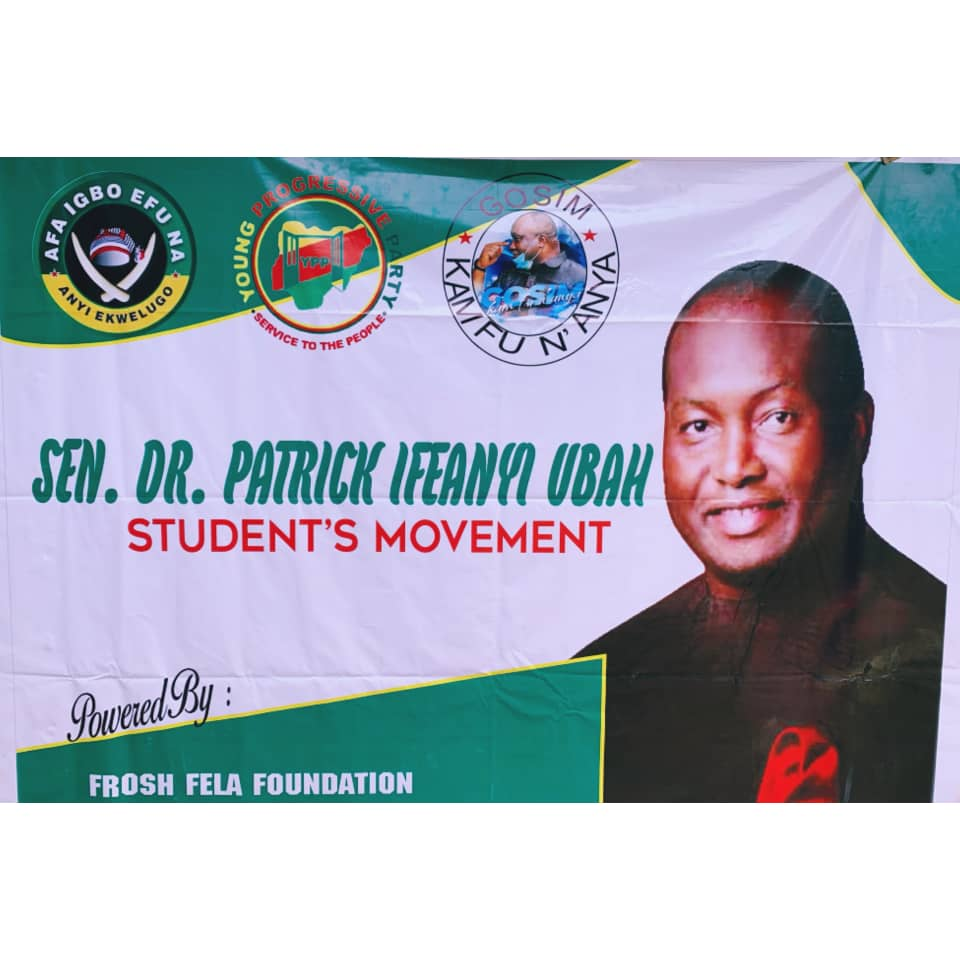 ANAMBRA 2021: STUDENT'S LEADERS GATHER FOR IFEANYI UBAH,MAKE DEMANDS IMAGES BY - 9NEWS NIGERIA