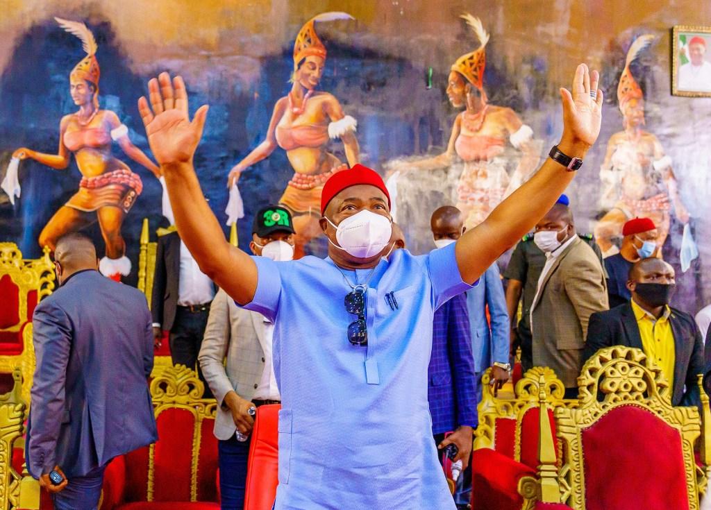 Governor of Imo State Hope Uzodinma
