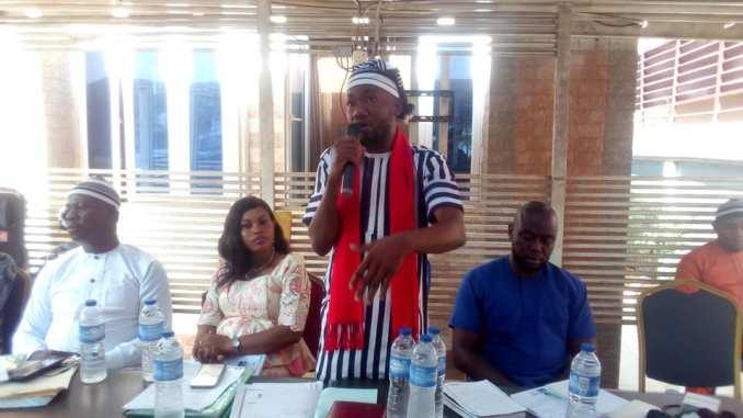 Igboayaka .O. Igboayaka - Ohanaeze Youth Council - Meeting - 9NEWS NIGERIA
