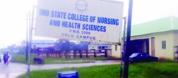 Imo State College of Nursing Orlu