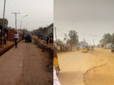 Man decries the infrastructural dilapidation and levy extortions going on in Enugu East, sends SOS to the governor - Images by 9News Nigeria