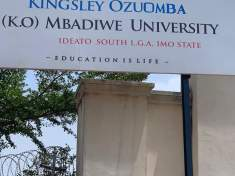 ROCHAS OKOROCHA'S EASTERN PALM UNIVERSITY RENAMED TO K.O MBADIWE UNIVERSITY WITH IMMEDIATE EFFECT - 9NEWS NIGERIA
