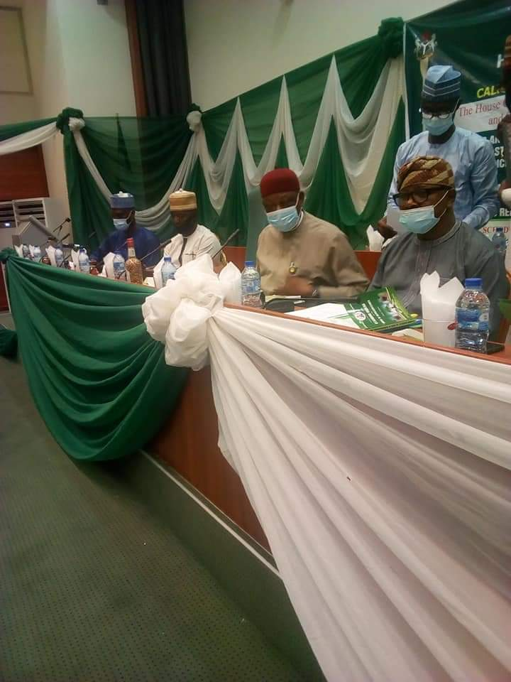 THE HOUSE OF REPRESENTATIVES COMMITTEE ON HEALTH INSTITUTIONS IN NIGERIA HOLDS PUBLIC HEARING ON REFERRED BILLS