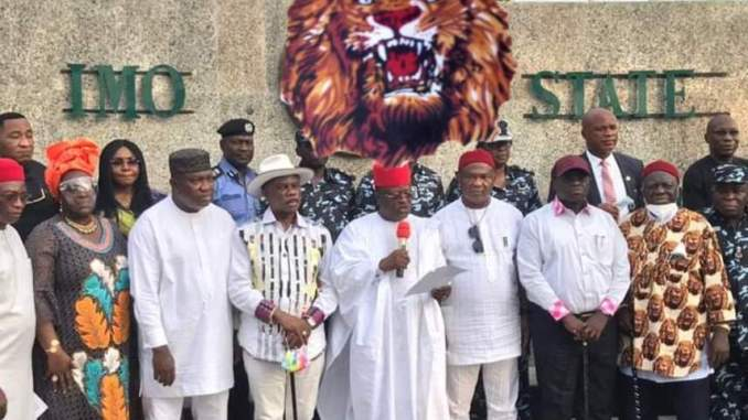 'EBUBE AGU': South-East Governors Establish New Security Outfit To Tackle Rising Insecurity In The Region
