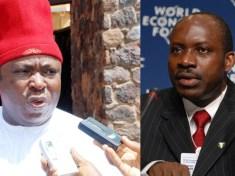 Chief Victor Umeh and Professor Charles Chukwuma Soludo