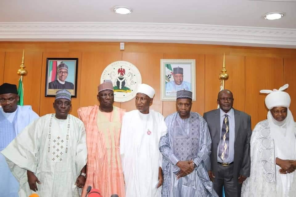 Executive Governor of Gomber State Muhammad Inuwa Yahaya - Swearing in of Justice Muazu